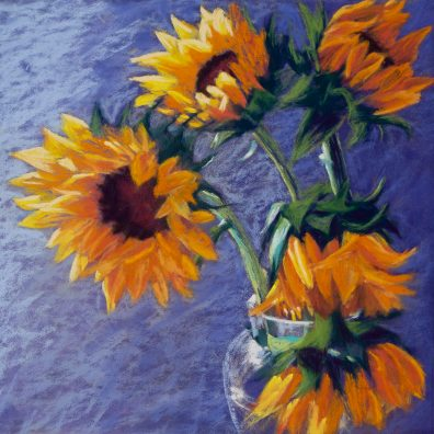 Sunflowers in the window