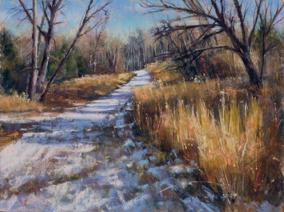 Wintery Local Path